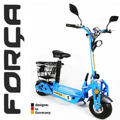 20 km h electroscooter mit zulassung riemenantrieb 500. Black Bedroom Furniture Sets. Home Design Ideas