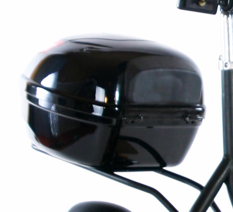 leichtes topcase fahrradbox fahrradkoffer ebike motorrad. Black Bedroom Furniture Sets. Home Design Ideas